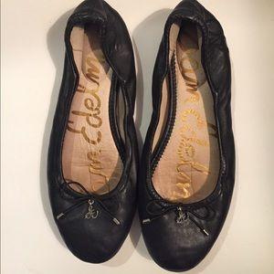 Sam Edelman Black Felicia Ballet Flats Size 7